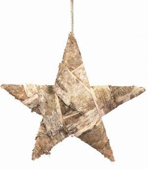 Stjärna i näver, liten-0