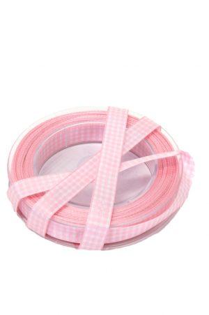 band rutigt, rosa-0