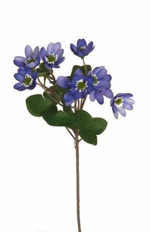 Blåsippa, konstgjord blomma-0