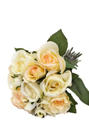 Bukett rosor, konstgjord-0