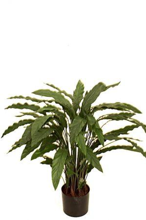 Calla, konstgjord grön krukväxt-0