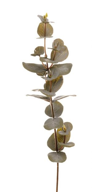 Eucalyptus, grön, konstgjord kvist-0