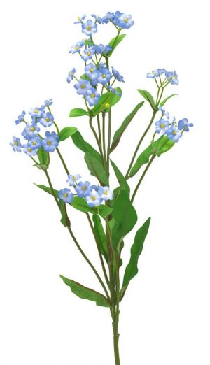 Förgätmigej eller Forget me not, konstgjord blomma-0