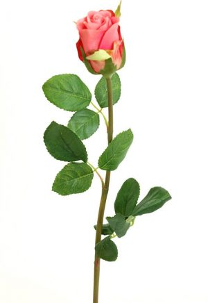 Ros, cerise, rosa, konstgjord blomma-0