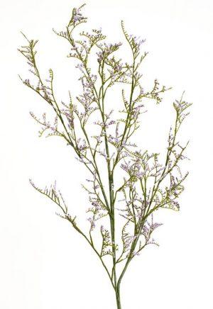 Limonium, lila, konstgjord kvist-0