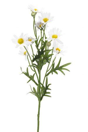 Prästkrage, konstgjord blomma-0
