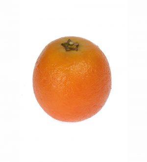 Apelsin, konstgjord frukt-0
