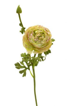 Ranunkel, lime lila, konstgjord blomma-0