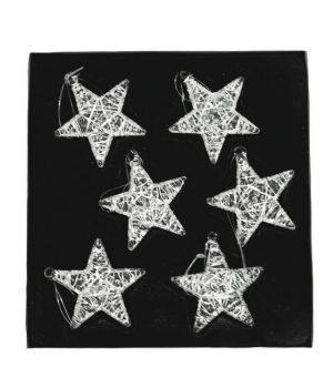 Stjärnor i glas, 6 st-0
