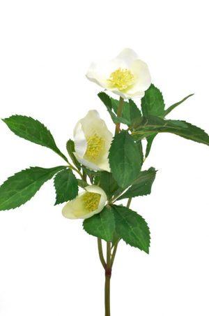 Julros, creme, konstgjord blomma-0