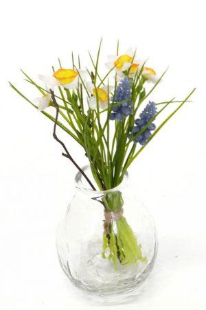 Bukett mini, pingstliljor, konstgjord blomma-0