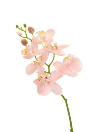 Orkidéstängel, rosa, konstgjord-0
