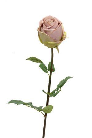 Ros, ljus rosa, konstgjord blomma-0