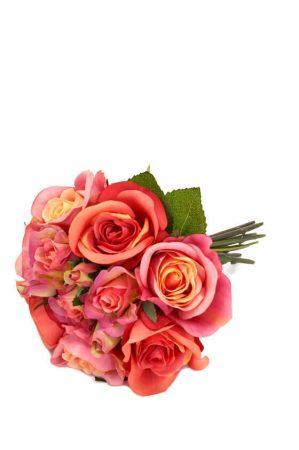 Bukett, rosor, konstgjord-5423