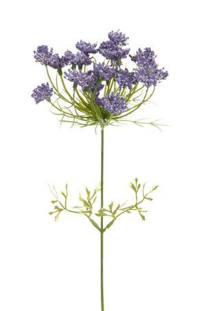 Trachelium, blå, konstgjord blomma-0