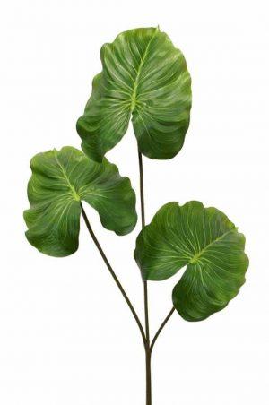 Kvist med 3 blad, konstgjord-0