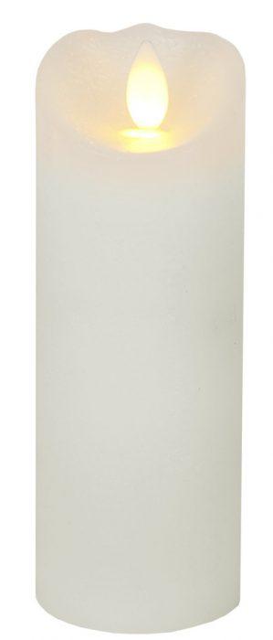 Vaxljus, LED med timer, creme-2252
