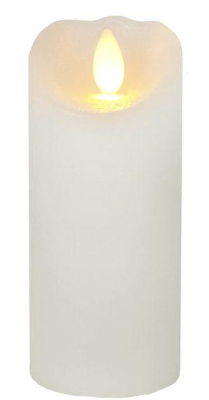 Vaxljus LED med timer, creme-5729