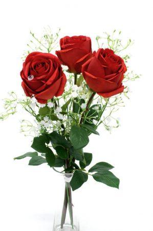 Bukett Älskling, konstgjorda blommor-0