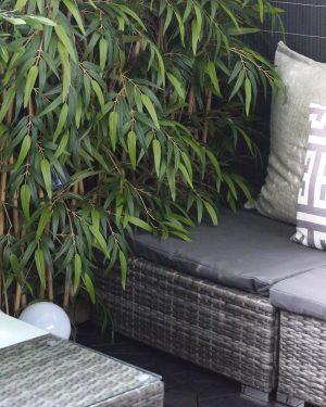 Bambu spaljé, konstgjord-0