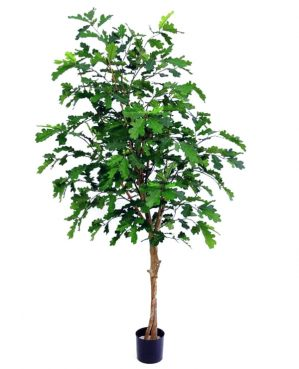 Ek, konstgjort träd-0