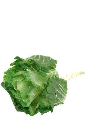 Prydnads kål, grön vit, konstgjord-0