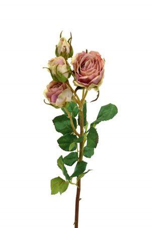 Kvistros, dimrosa, konstgjord blomma-0