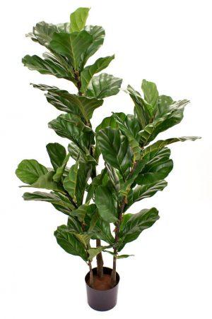 Fiolfikus, konstgjord grön krukväxt-0