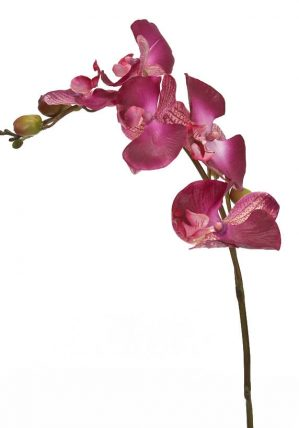 Orkidéstängel, mörk lila, konstgjord-0