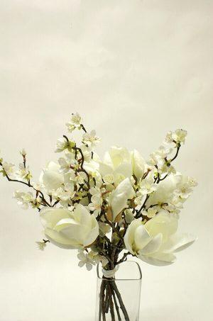 Bukett, Magnolia dream, konstgjord-0