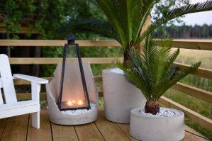 Cykas palm, konstgjord-0