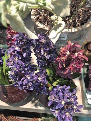 Hyacint, vinröd, konstgjord-5583