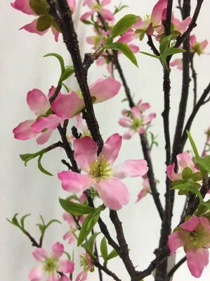 Körsbärsblom, rosa, konstgjort-4966