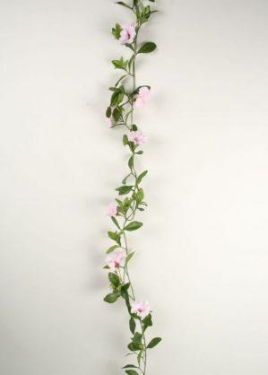 Petunia girlang, rosa, konstgjord-0