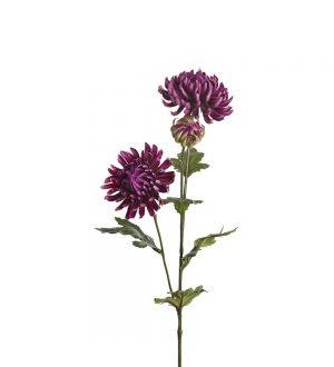Chrysanthemum, lila, konstgjord blomma-0