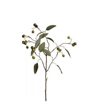 Eucalyptus med bär, konstgjord kvist-0