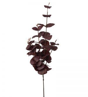 Eucalyptus, vinröd, konstgjord kvist-0