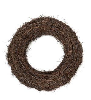 Krans, 75cm, gjord av grenar-0