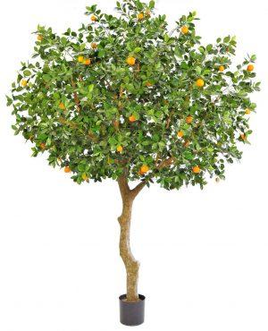 Apelsinträd, grenat, konstgjort träd-0