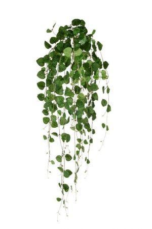 Hjärtan på tråd, vine green, konstgjord-0