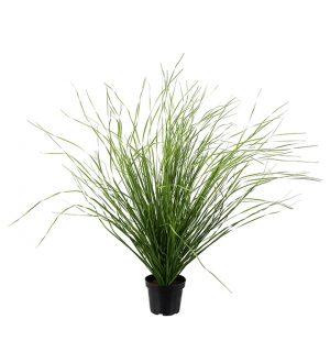 Gräsplanta, konstgjord med ljusgröna strån-0