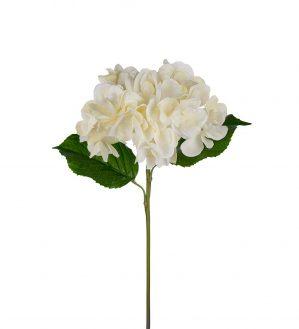 Hortensia, vit, rosa, konstgjord blomma-5803