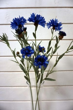 Blåklint, konstgjord blomma-5788