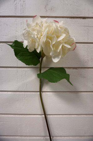 Hortensia, vit, rosa, konstgjord blomma-5890