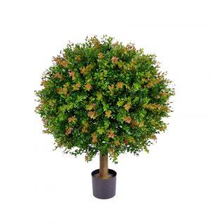 Buxbom på stam, konstgjord växt-0