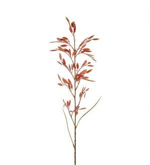 Gräs, tegel/orange hängande ax, konstgjort-0