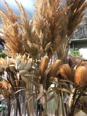 Pampasgräs, naturfärgat, torkat, konstgjort gräs-5950