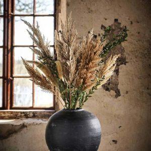 Pampasgräs, naturfärgat, torkat, konstgjort gräs-0