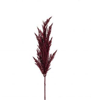 Pampasgräs, vinrött, konstgjort gräs-0