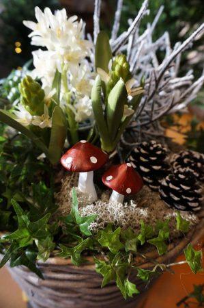 Flugsvamp, 2- pack, konstgjorda svampar-0